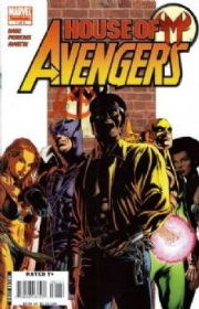 House of M Avengers Comics